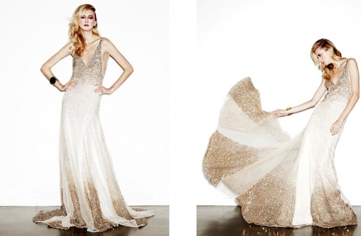 daring new wedding dress designer Houghton NYC bridal gowns 2