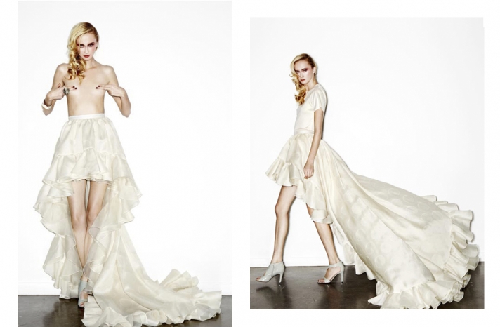daring new wedding dress designer Houghton NYC bridal gowns 5