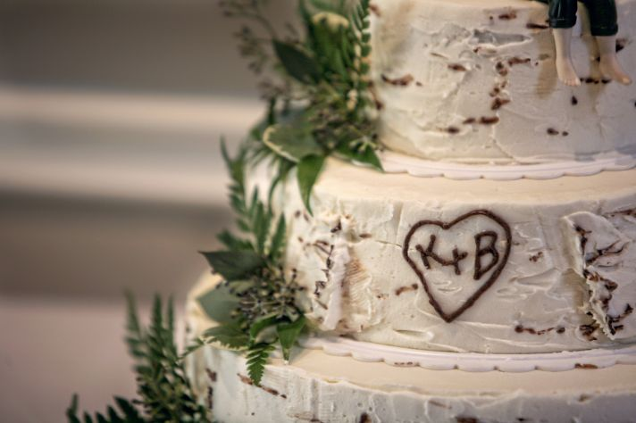 personalized real wedding planning inspiration for brides wedding cake