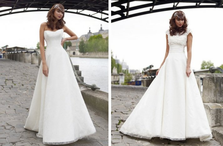 vintage inspired wedding dress stephanie allin romantic lace a line bridal gowns