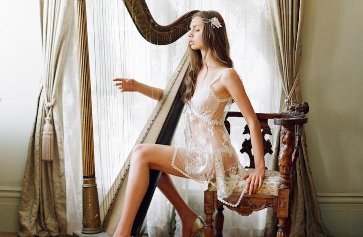 Bridal Boudoir Lingerie Photography