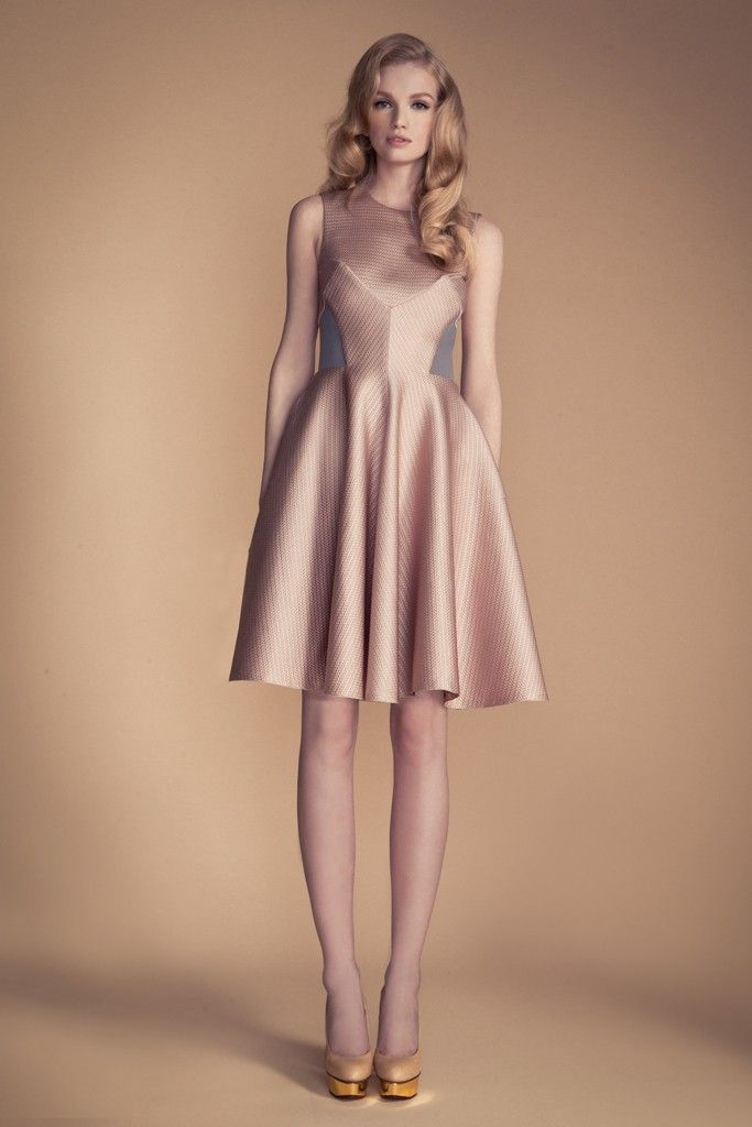 temperley london blush nude bridesmaid dress ideas sheer neckline