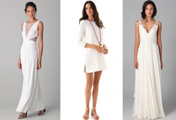 discount designer wedding dresses LWDs shopbop 3