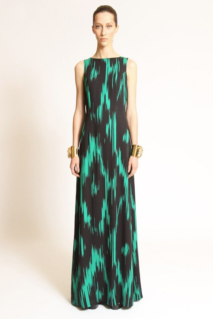 green black wedding inspiration Michael Kors Resort 2013