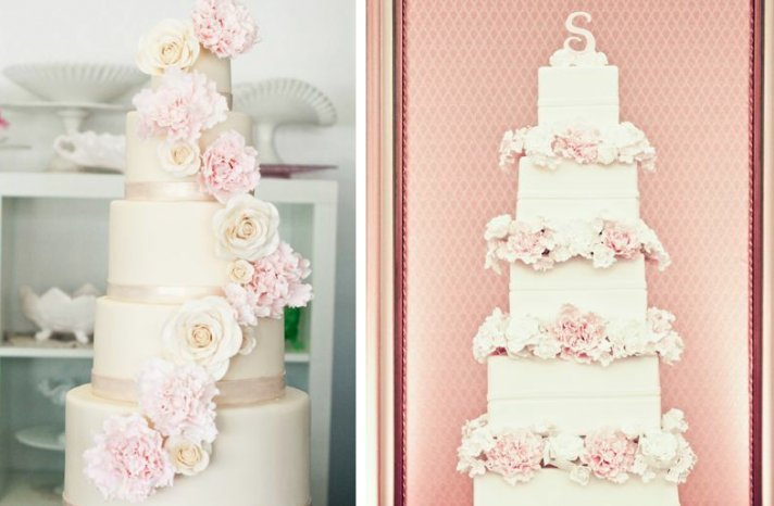 romantic floral wedding cakes 18
