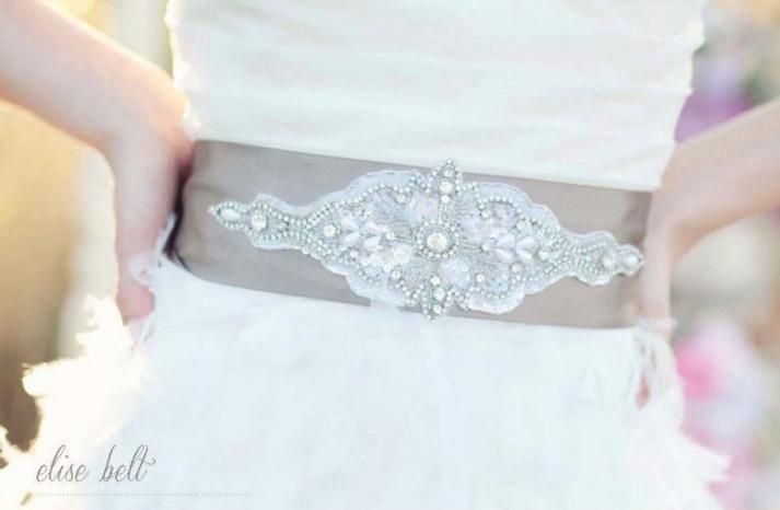 2012 wedding trends for summer embellished belts