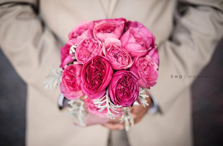 elegant southern wedding summer 2012 groom with brides bouquet