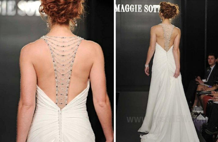 maggie sottero 2013 wedding dress statement back bridal gowns 1