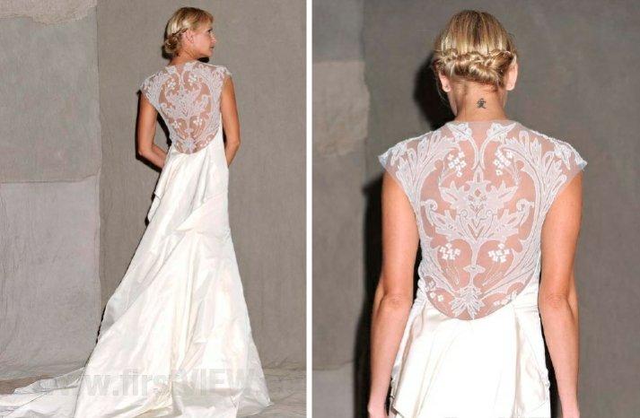 lela rose 2013 wedding dress statement back bridal gowns 1
