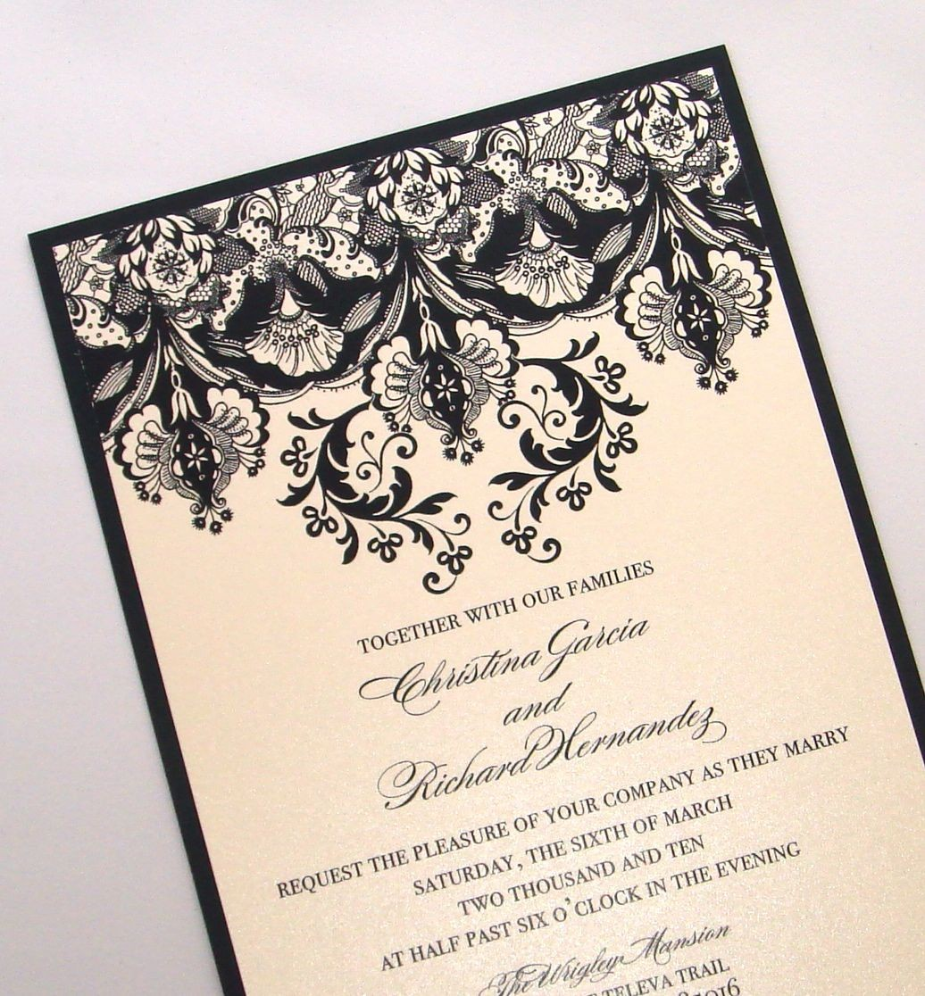 Grace  Unique Wedding Invitation By The Green Kangaroo  Wedding