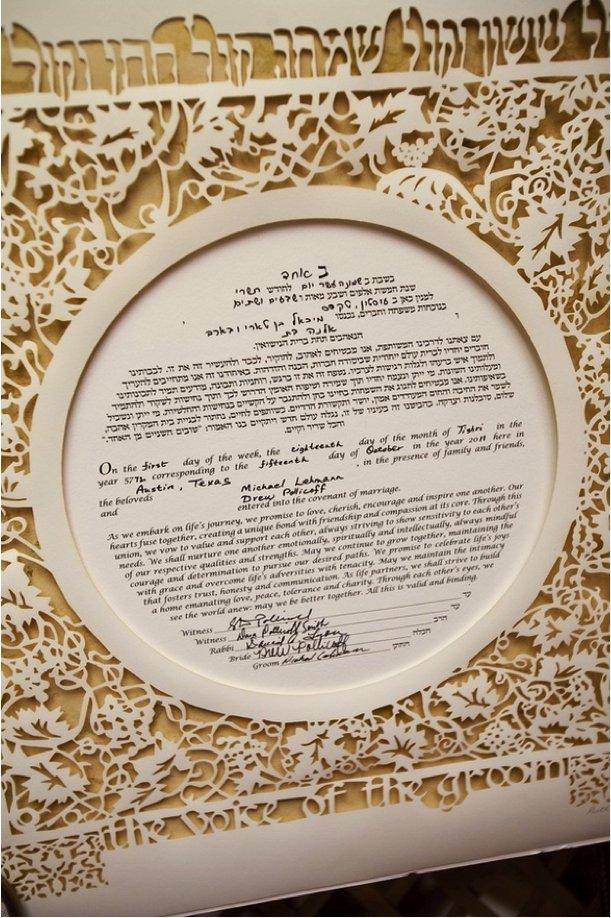 interfaith wedding ideas Ketubah