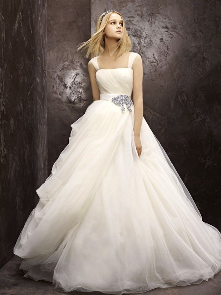 Fall 2012 wedding dress white by vera wang bridal gowns fairytale