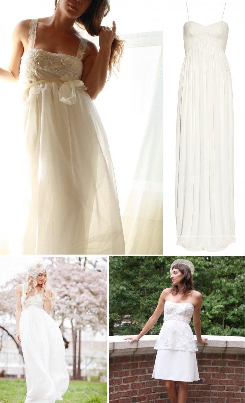 empire waist wedding dress vintage inspired bridal style