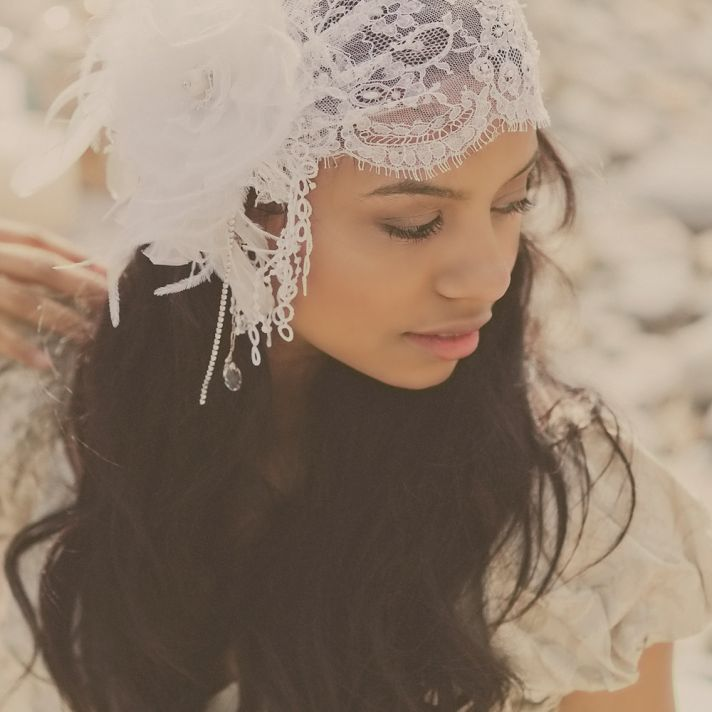 Vintage Wedding Headpieces: The Anatomy Of A Downton Abbey Wedding