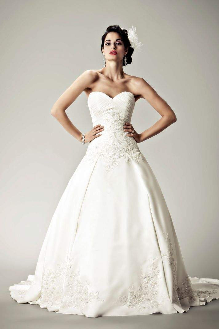 2012 wedding dresses Matthew Christopher bridal gown muse