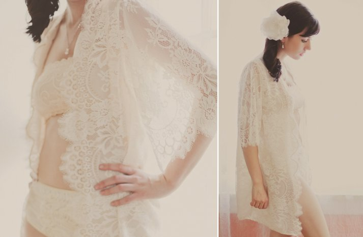gorgeous handmade bridal lingerie for the wedding night from Etsy 4