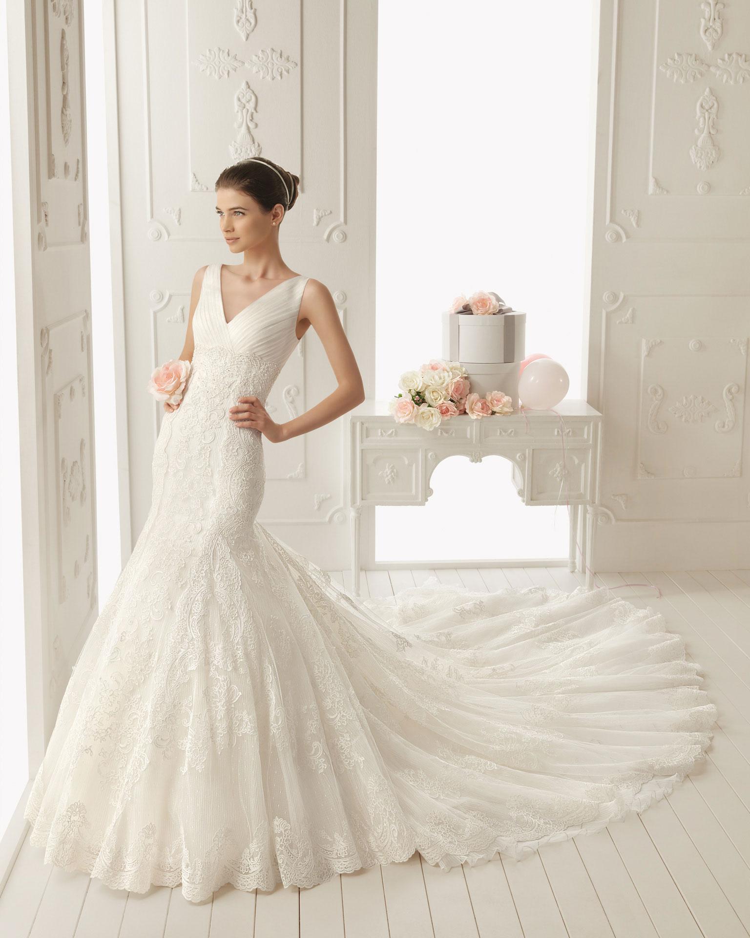 فساتين زفاف 2015 جديدة اروع فساتين زفاف