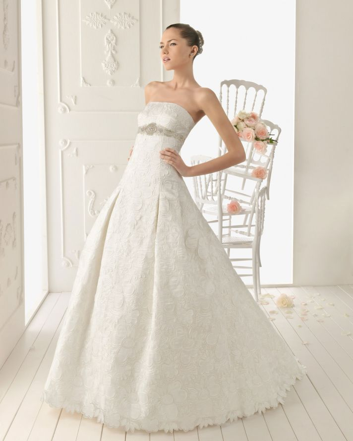2013 wedding dress Aire Barcelona bridal gowns Rei