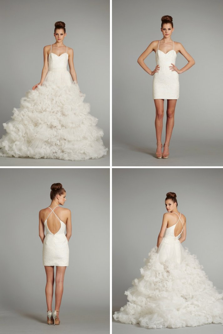 15 stunning new bridal gowns by hayley paige for 3 in 1 wedding dress