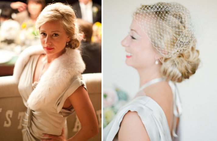 bridal updos we love summer 2012 low vintage updo