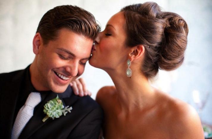 15 pretty bridal updos wedding hair inspiration sleek updo
