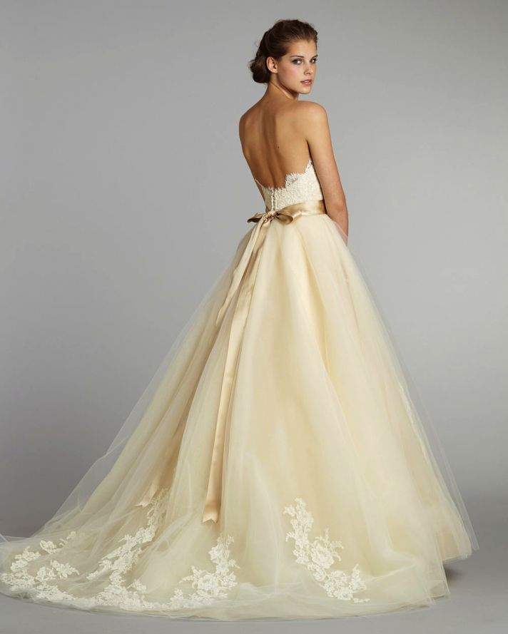 Fall 2012 wedding dress lazaro bridal gowns 3251 b