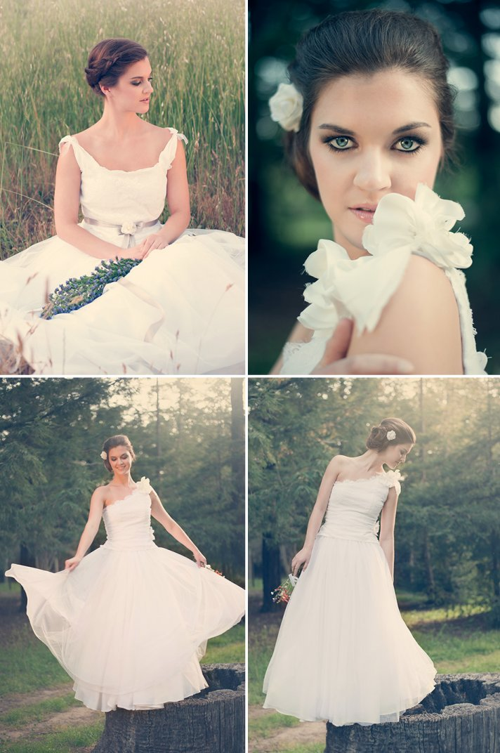 romantic wedding inspiration vintage inspired bridal style 2