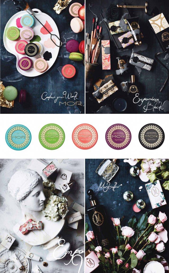 unique bridal makeup macaroon inspired lip gloss perfect bridesmaid gifts 2