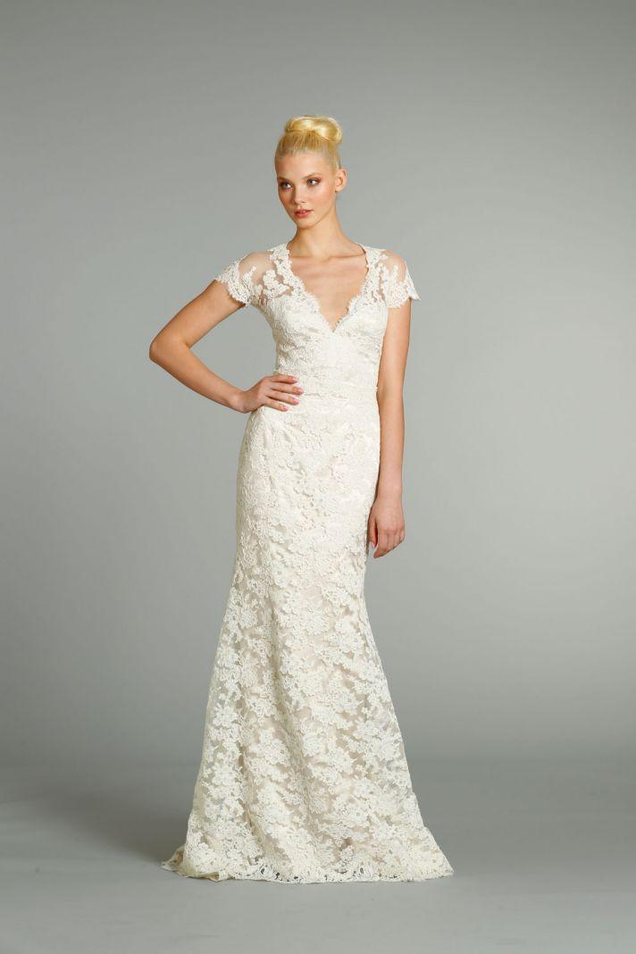 fall 2012 wedding dress Jim Hjelm bridal gowns 8252