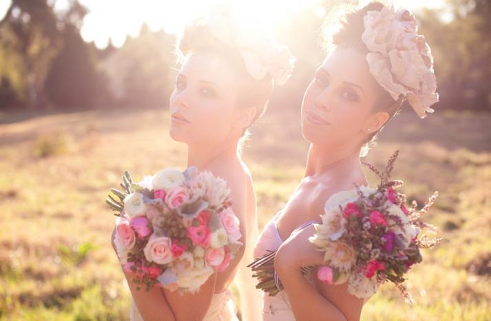 romantic wedding hair makeup inspiration 7