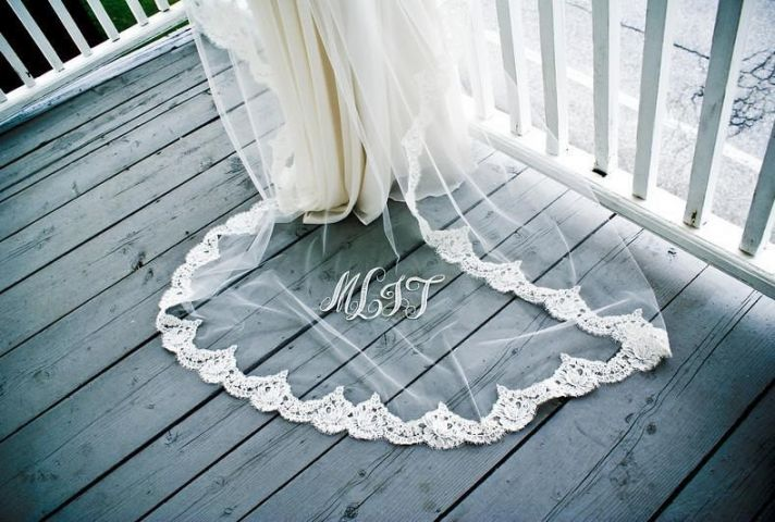 romantic bridal accessories wedding hair headpieces mantilla veil 4