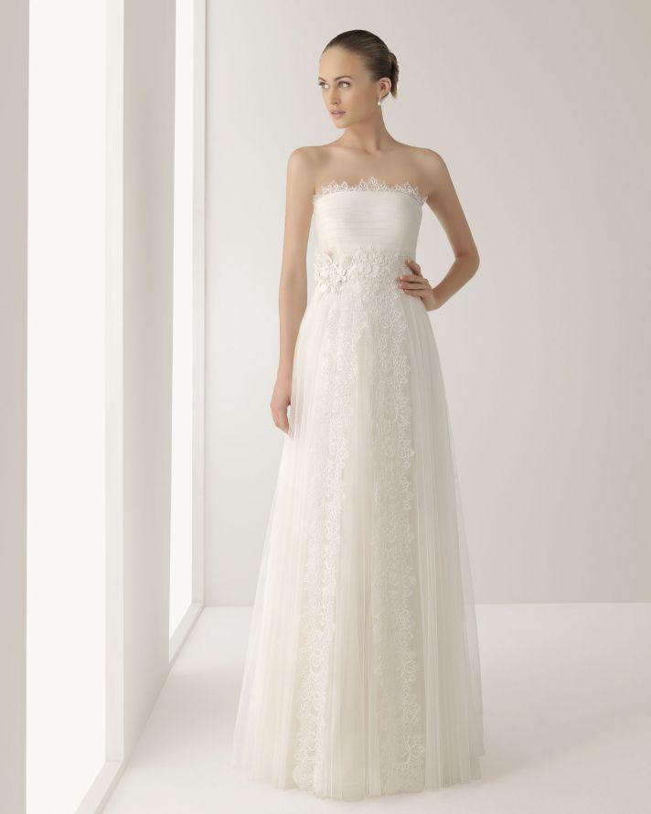 2013 wedding dress Soft by Rosa Clara bridal gowns Jonico veil