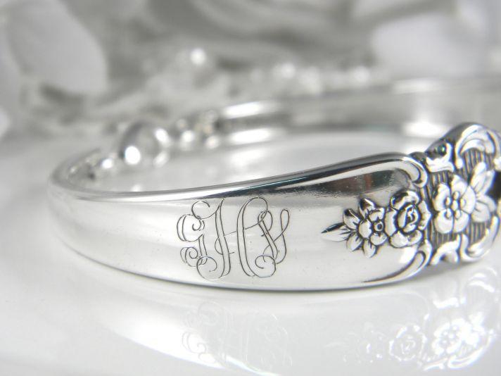 handmade wedding ideas wedding party gifts vintage spoon bracelet