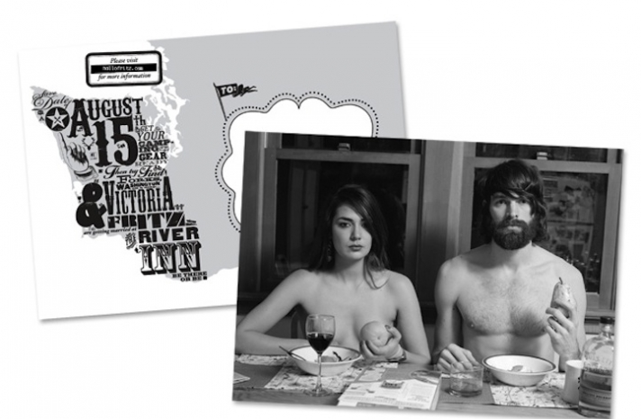 Funny-wedding-save-the-dates-black-and-white
