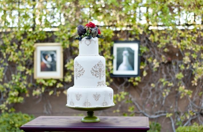 Parisian romance wedding inspiration handmade weddings Amelie theme wedding cake