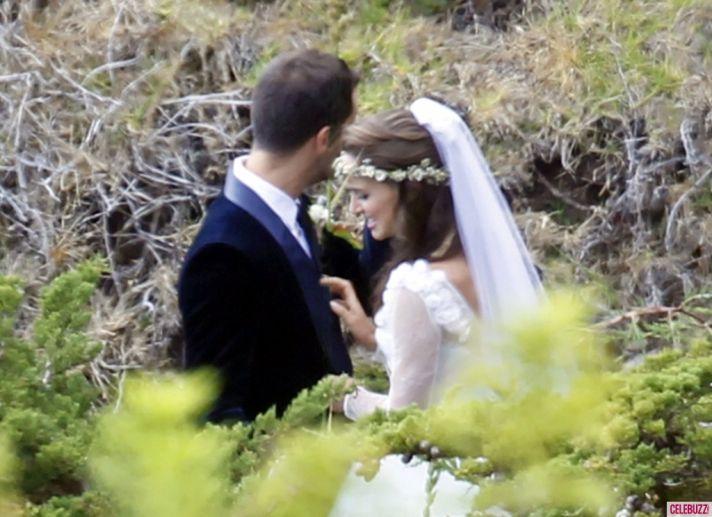 celebrity weddings natalie portman gets married