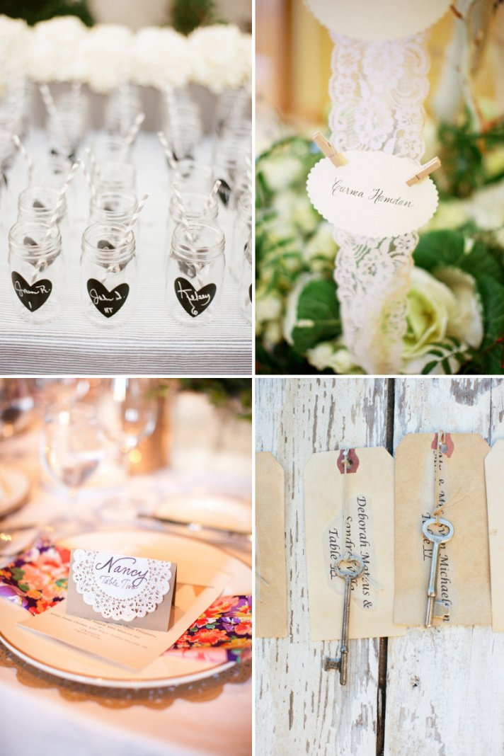 5 Unforgettable Wedding Escort Card DIYs