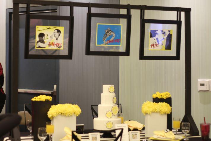 creative wedding themes inspired by art Roy Lichtenstein retro weddings 1