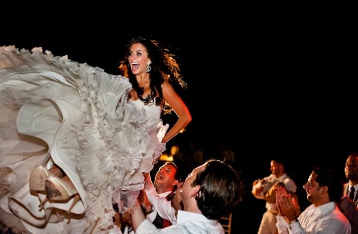 priceless wedding photos brides reaction during reception fun