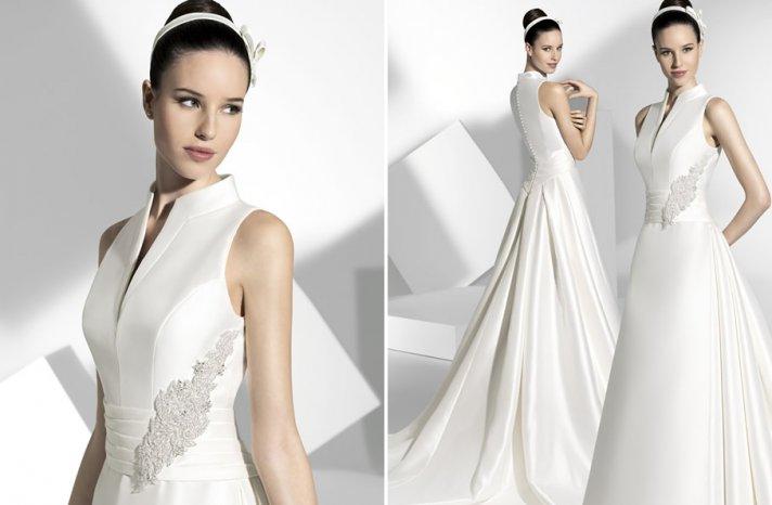 2013 wedding dress Franc Sarabia bridal gowns Spanish designers 10