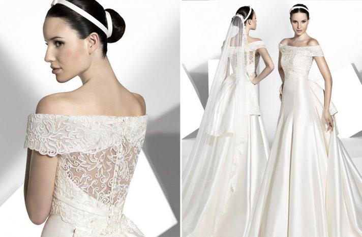 2013 wedding dress Franc Sarabia bridal gowns Spanish designers 15