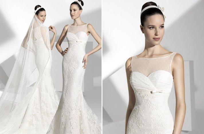 2013 wedding dress Franc Sarabia bridal gowns Spanish designers 18