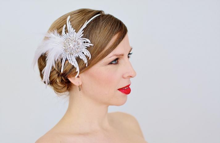 chic bridal headbands unique wedding hair accessories 1