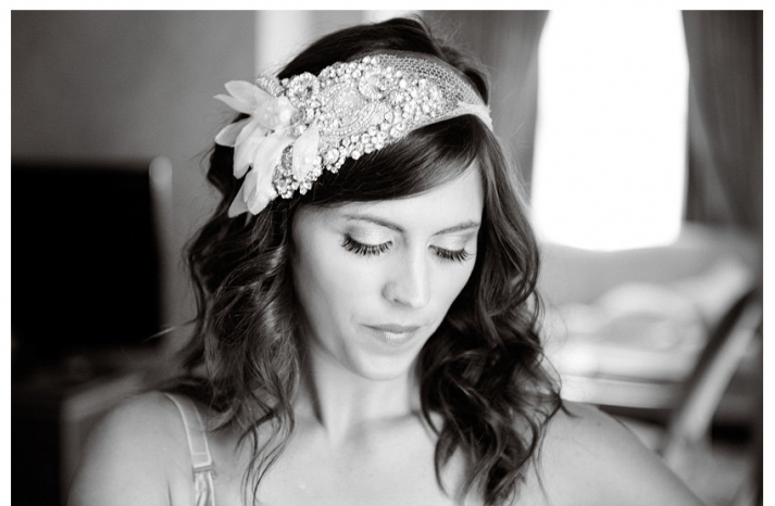 chic bridal headbands unique wedding hair accessories art deco