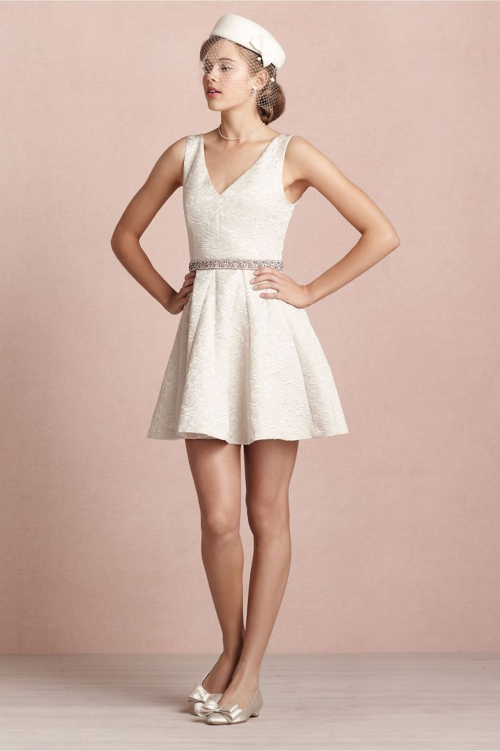 covetable bridesmaid dresses from BHLDN 2013 bridal party style ivory LWD