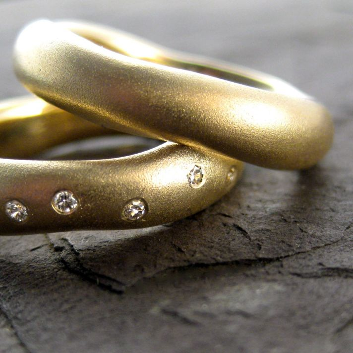 wedding bands your groom will love unique wedding rings from Etsy 13