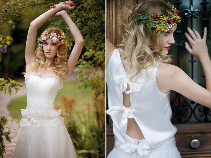 bohemian bridal style wedding dresses and accessories 5