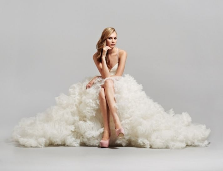 two in one wedding dress 2013 bridal gowns Hayley Paige 1