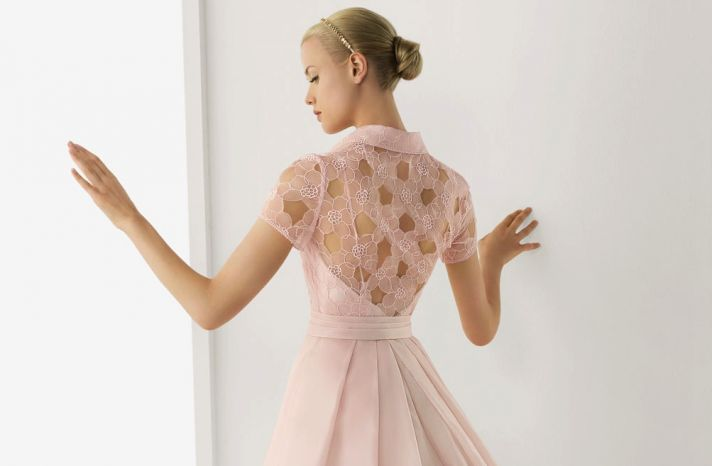 2013 wedding dresses beautiful statement backs by Rosa Clara blush pink