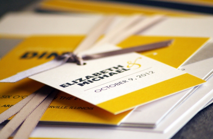 wedding invitations for modern weddings Etsy wedding finds yellow black bold